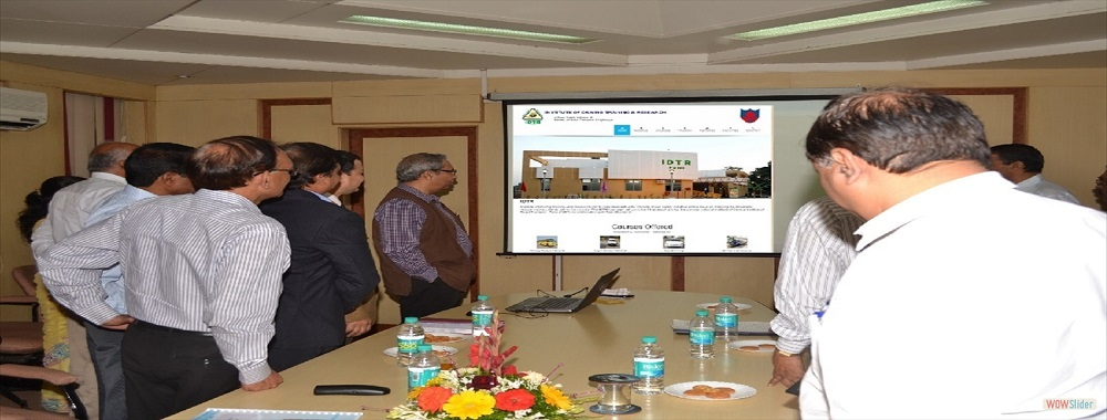 IDTR, Pune  website www.idtrpune.org inaugurated by Shri. Gautam Chatterjee, IAS<br /> Additional Chief Secretary Government of Maharashtra on 31-Jan-15